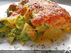 Lachs - Auflauf mit Gemüse, ein sehr schönes Rezept aus der Kategorie Fisch. Bewertungen: 65. Durchschnitt: Ø 4,3.