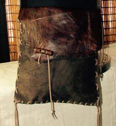 Dark Brown Nubuck Leather Bohemian Country by ResplendentLeather #leathermessengerbag #bohomessngerbag #bohemianbag