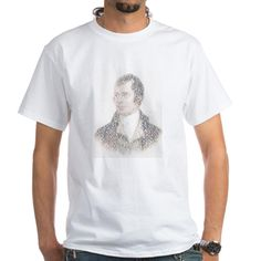 Portrait Of Robert Burns Shirt