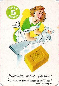 MIRA LANZA SAPONE STELLA - Concorso figurine (1960 M.L.P. 458)