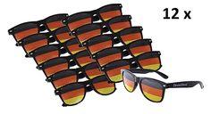 Portugal Brille Portugal Rot Sonnenbrille 1 x Fanbrille Portugal Fan Artikel