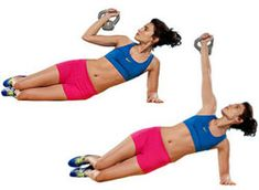 4 Kettlebell Exercises for Toned Abs