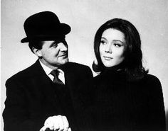 Steed and Mrs. Peel. Even as a young girl, I wanted to BE Emma Peel.