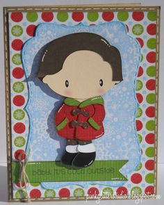 Winter Kid - Jacket.  Created by Trixie for SVG Cutting Files.