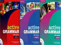 "Cambridge e books ""Active Grammar for levels 1, 2 & 3 #learnenglish #ebooks"
