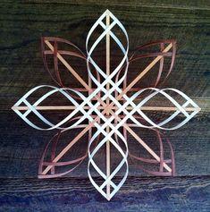 Scandinavian  Swedish  Advent woven reed star  by HarlequinCreek, $30.00
