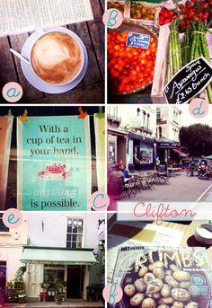 Clifton Bristol  - a vibrant village! via Dishes Undressed #pinitforwardUK