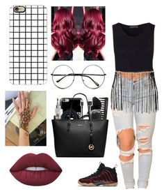 """""""Untitled #373"""" by lexi124 ❤ liked on Polyvore featuring NIKE, Casetify, Retrò and Lime Crime"""