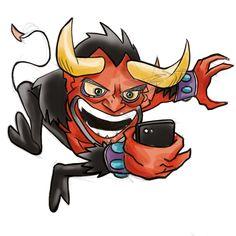 """DEMONE: Bozza Avatar per applicazione chat per smarthphone """"LILLO"""""""