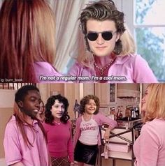Steve Harrington IS a cool mom