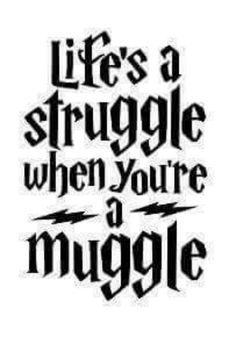 Harry Potter Muggle thank goodness I'm not! My Hogwarts letter just hasn't come yet Blaise Harry Potter, Harry Potter Jokes, Harry Potter Fandom, Harry Potter World, Hogwarts, No Muggles, Harry Potter Wallpaper, Harry Potter Universal, Ravenclaw