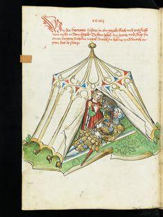 "Solothurn, Zentralbibliothek / Cod. S II 43 – ""Historienbibel"" from the workshop of Diebold… / f. 140v"