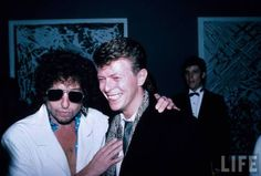Bob Dylan & David Bowie