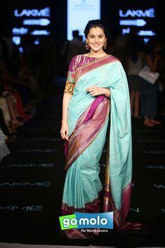 Tapsee Pannu at Lakme Fashion Week (LFW) 2015 in Mumbai