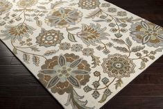 Athena rug in Mocha, Taupe, Gray and Ivory colorway ATH-5063: Surya | Rugs, Pillows, Art, Accent Furniture