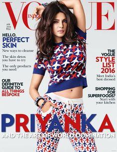 Priyanka Chopra, Vogue Magazine [India] (April 2016)
