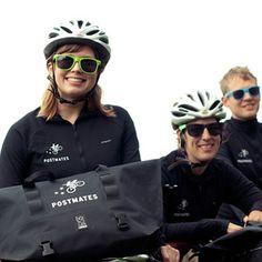Postmates, livraison à vélo aux US