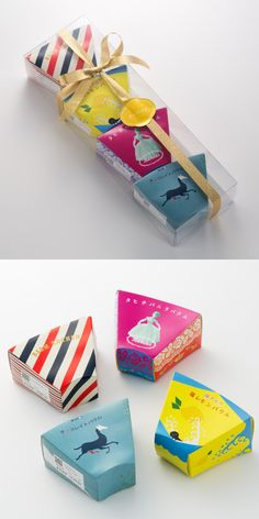 Love to see creative designs for packaging that are relevant to the product inside! Dairy Packaging, Cheese Packaging, Fruit Packaging, Cookie Packaging, Brand Packaging, Japanese Packaging, Japanese Graphic Design, Packaging Design Inspiration, Box Design
