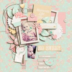 My granddaughter Credits: Tea for Two: Jennifer Labre Designs  https://www.pickleberrypop.com/shop/product.php?productid=36514&page=1 Jumpstart Your Layout 5 Templates: Jumpstart Designs