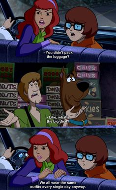 We all watched Scooby Doo as kids!You can find Scooby doo and more on our website.We all watched Scooby Doo as kids! Generator Rex, Funny Meme Pictures, Funny Memes, Funny Logic, Logic Memes, Funny Cartoons, Funniest Memes, Random Cartoons, Live Action