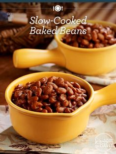 Best #summer side ever: Slow Cooked Baked Beans!