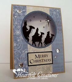 Heartfelt Creations | Wisemen Seek Him Card