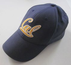 Nike Team Men's Blue University of California CAL Logo Baseball Cap Hat One Size #UniversityofCaliforniaGoldenBears