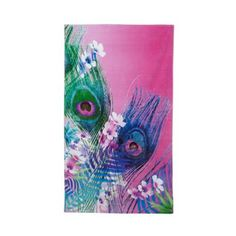 Butterfly Home by Matthew Williamson Designer pink peacock feather towel- at Debenhams.com