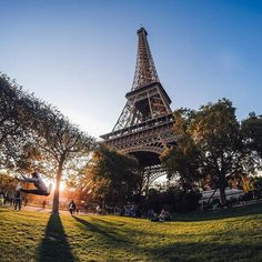 Bonjour Paris!  @nicolergz captured the scene at the #eiffeltower while traveling in France. Wanderlust got you hooked? Share your adventures with us by clicking! # #GoProTravel #TravelTuesday