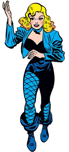 Black Canary (DC Comics) (Golden Age). From http://www.writeups.org/black-canary-dc-comics-golden-age/