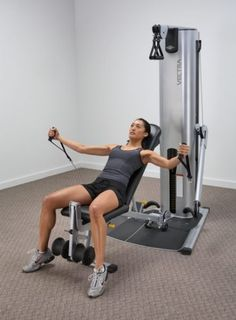 Vectra Fitness VFT-100 Multi Functional Trainer: Home Gym Equipment - Specialty Fitness