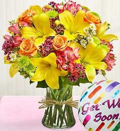 40 Get Well Flowers Gifts Ideas Get Well Flowers Flower Gift Get Well Gifts