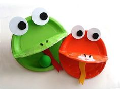 frog plate game