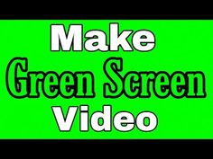 How to make green screen ( Chroma Key ) video 2020 Frame Download, In Kannada, How To Make Greens, Disco Lights, Chroma Key, Lyrics, Songs, Youtube, Song Lyrics