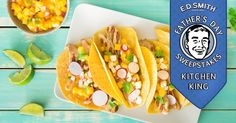 SMITH Sweet & Tangy Chicken with Tropical Fruit Salsa will appeal to the Kitchen Kings - Dads who are confident in the kitchen. Fruit Salsa, Tangier, Chicken Tacos, Tropical, Beautiful Body, Confident, Ethnic Recipes, Sweet, Dinner Ideas