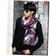 Men's High-Grade Silk Made Scarf,Wrap,Shawl, Double Napping Design, Silk Making Real Natural Silk