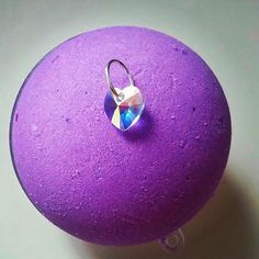swarovski crystal pendant bath bomb Galaxy Bath Bombs, Crystal Pendant, Swarovski Crystals, Christmas Bulbs, Etsy Seller, Candy, Holiday Decor, Creative, Shop