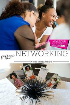 3 Networking tips + using MOO green business cards as a conversation starter via Old World New