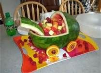 unique baby shower fruit displays - Bing Images
