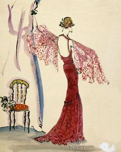 Irwin Crosthwait | Famous Fashion Designers History on Fashion Illustrators
