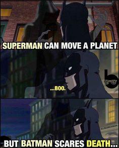 Batman Scares Death