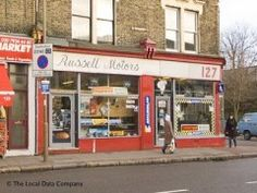 Russell motors, looks like 1980s. Great place then but could be tricky to deal with