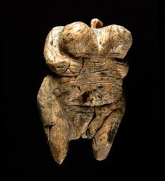 The Venus of Hohle Fells is the oldest known example of figurative female art (Image: H.Jensen/University of Tubingen/Nature)