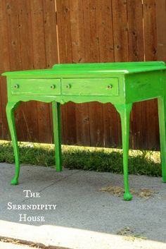 cottage instincts: ::Desk Double Dip, a Paint Review, Tips, and a Tutorial::