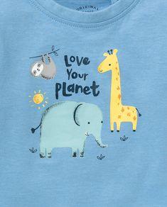 Camiseta de bebé niño Unit Azul · Moda y Accesorios · Hipercor 8d6efeb8093