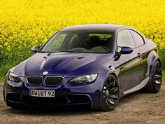 This is what an E92 M3 should have looked like coming out of the factory.