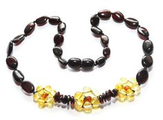 Authentic baltic amber baby teething necklace. by Amber24com, $14.99