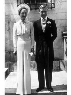 """You can never be too thin or too rich"" has been attributed to Wallis Simpson, the American divorcee who Edward VIII abdicated as King of England to marry. Mainbocher was privileged to design the most photographed dress in the twentieth century."