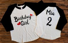 DISCOUNT code ANNABELLE15 for all Vazzie Tees purchases   Birthday Girl - ANY AGE - Raglan Tee - Personalize Colors - Birthday Shirt - Trendy Girls Shirts - Youth Girl - Toddler Girl - Hearts by VazzieTees on Etsy https://www.etsy.com/listing/252101262/birthday-girl-any-age-raglan-tee