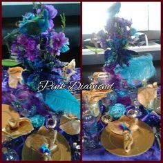 Peacock Custom Wedding Package $3.500 Special  Pink Diamond Elegance wedding Event & Rental